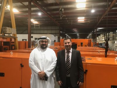Precision Industries (PI) pleased to welcome the Director of International Offices of the Dubai Chamber who has visited our Factory in Dubai