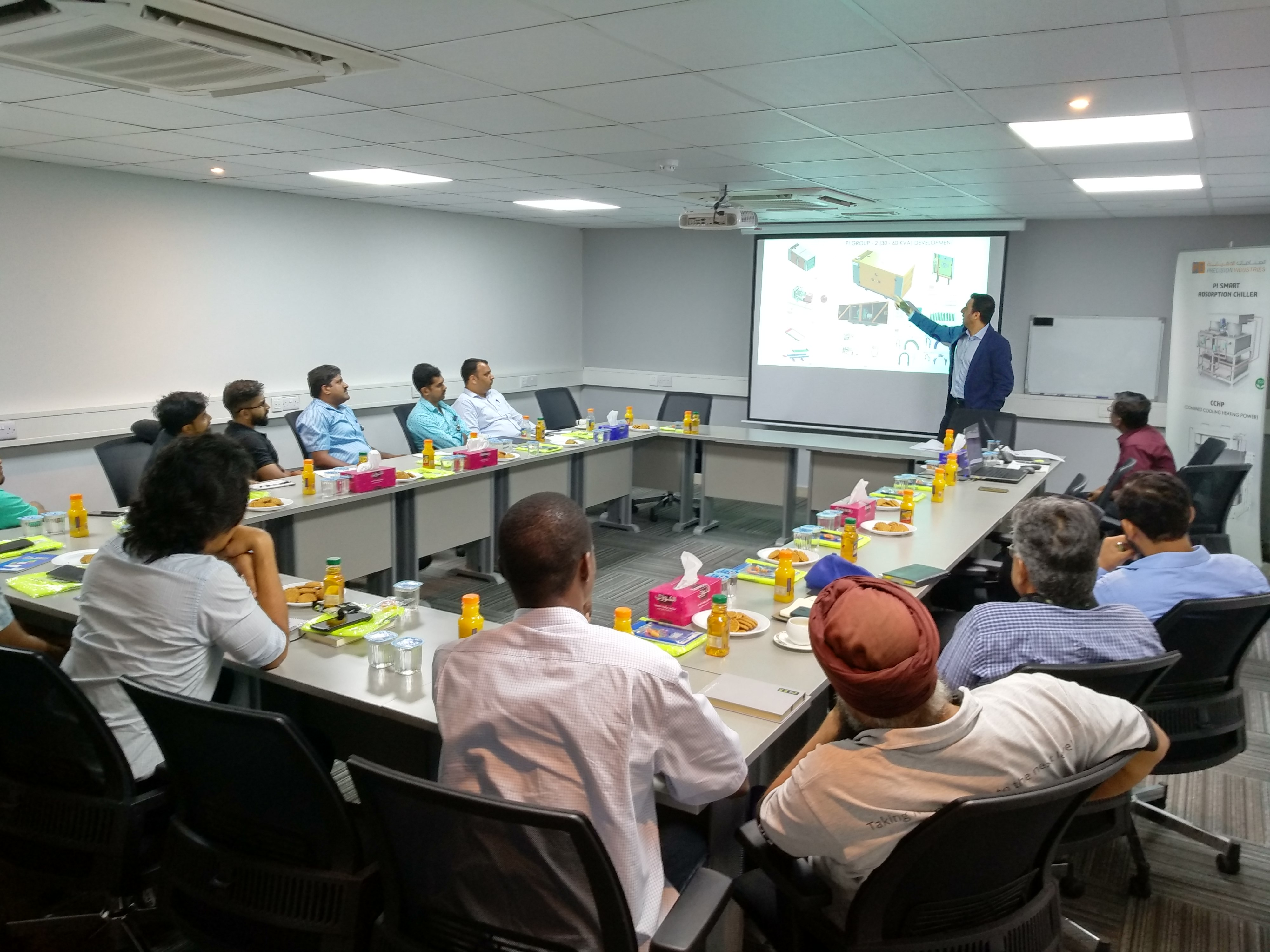 Technical Training for Etisalat Team